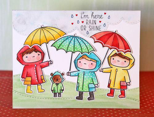 I'm Here Rain or Shine