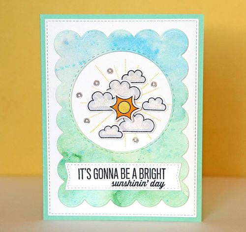 It's Gonna Be A Sunshiny Day Card
