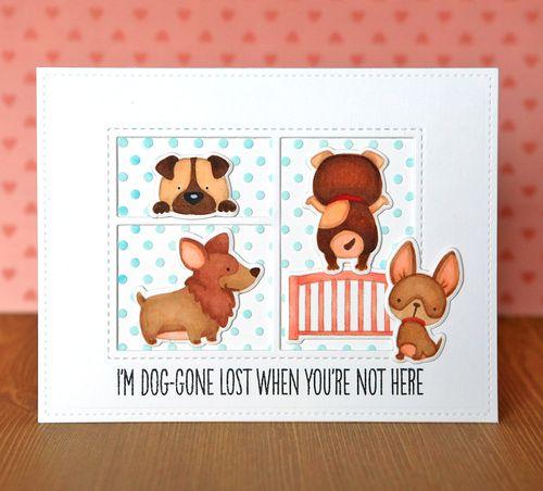 I'm Doggone Lost Card