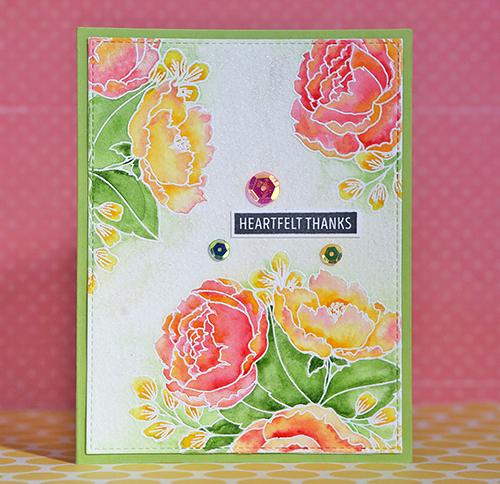 Flower card 2 small