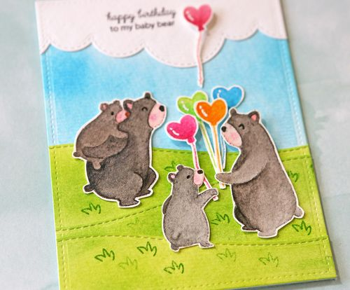 Bear Card Close Up