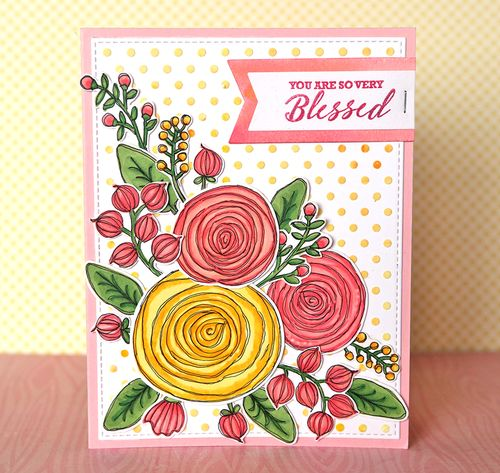 You Are So Very Blessed Card