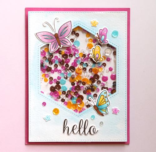Hello 2 Card