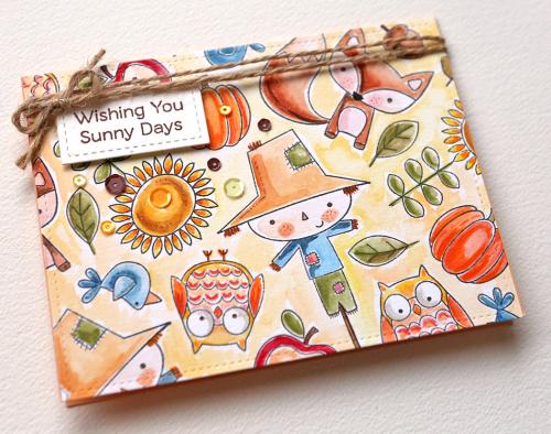 Wishing You Sunny Days Close Up
