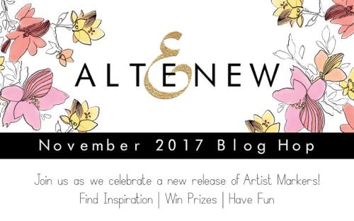 Altenew Nov 2017 Blog Hop Graphic