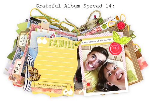 Grateful Album Spread Fourteen