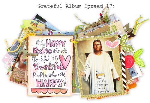 Grateful Album Spread 17