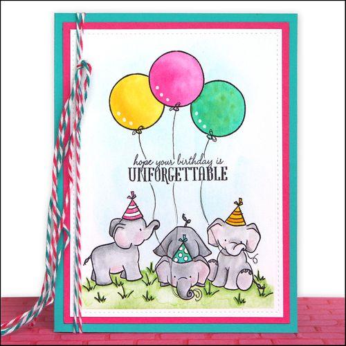 Unforgettable card