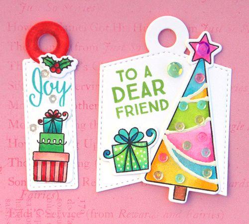 Christmas tag 4