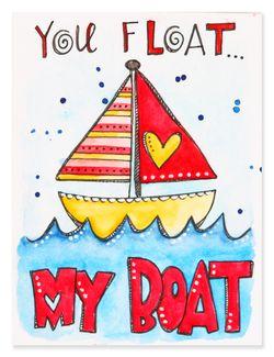 Doodle card 12