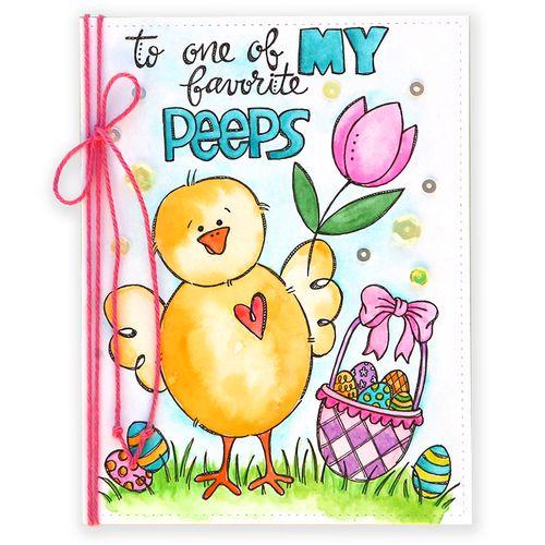March Card Kit Suzy Card 1