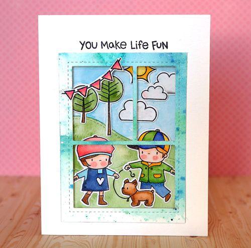 You Make Life Fun Card