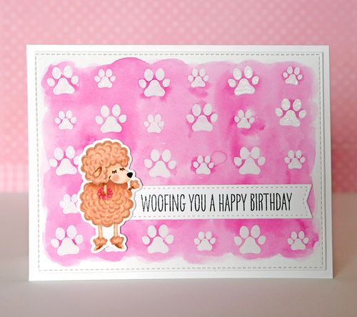 Woofing You a Happy Bday Card