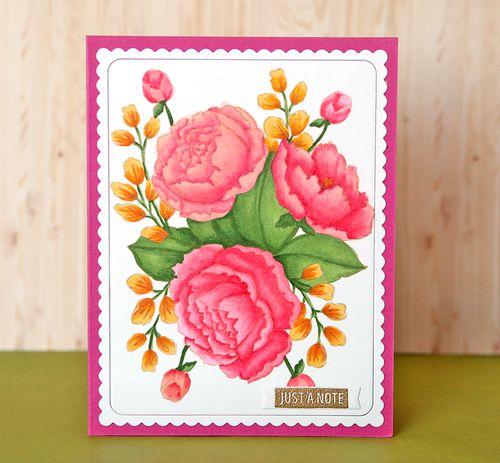 Flower card 5
