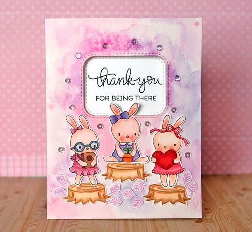 Bunny card 2