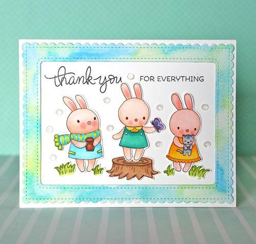Bunny card 1