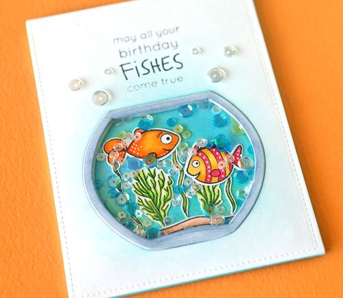 May All Your Birthday Fishes Come True Close Up