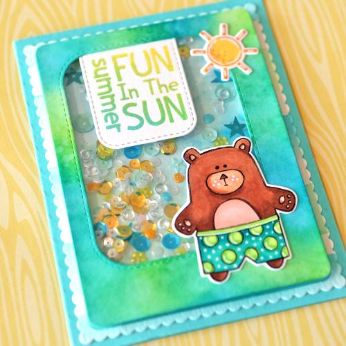 Fun in the sun close up