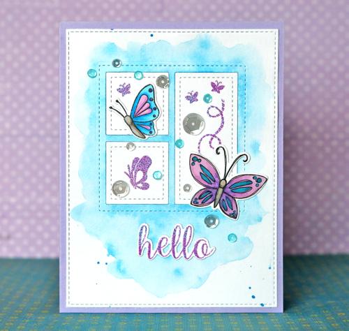 Hello 1 Card