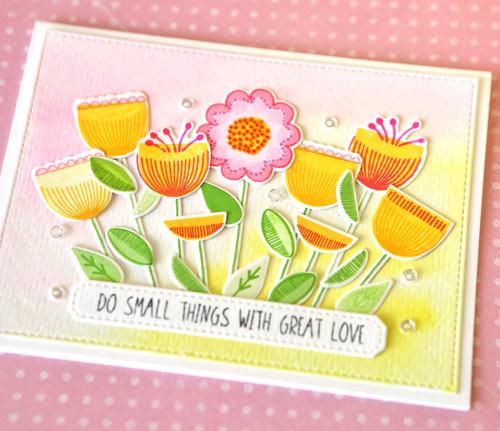 Do Small Things With Great Love Close Up