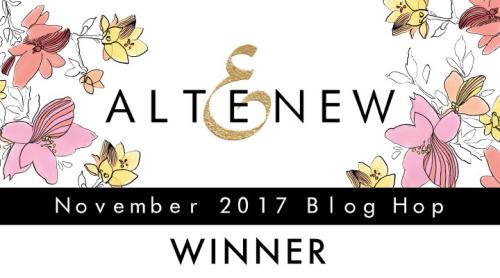 Blog Hop 2017-11 Winner