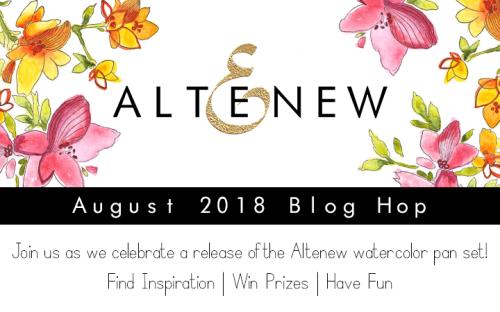 Altenew Watercolor Pan Set_Blog Hop Graphic