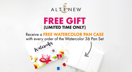 Free Watercolor Pan Case Promotio_Blog Post
