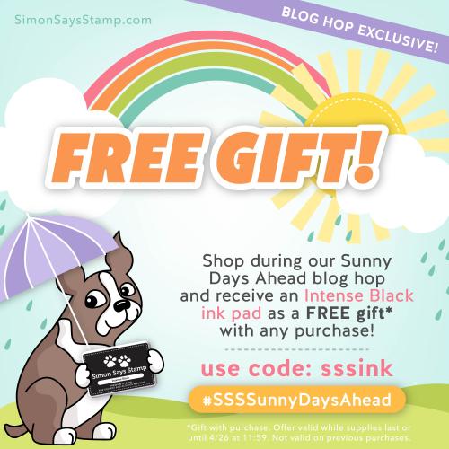 Sunny Days Ahead Blog Hop Graphic